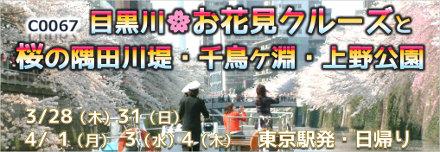 国内旅行_目黒川お花見クルーズ