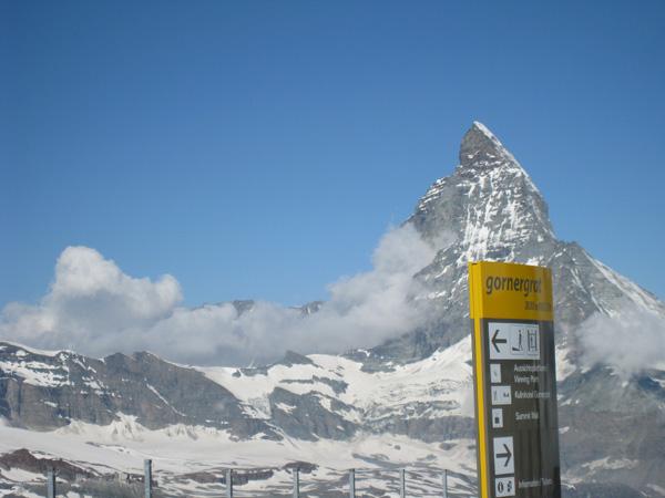 スイスアルプスハイキング