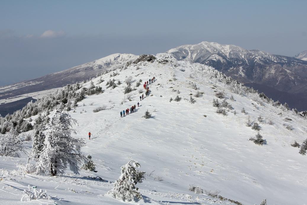安全登山教室 湯ノ丸山スノートレッキング・雪山入門