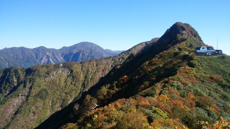 八海山・八ッ峰と入道岳